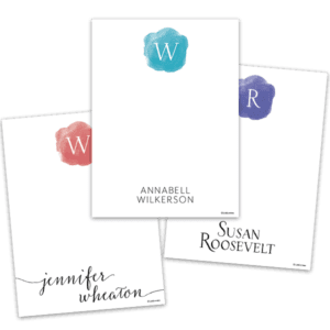Letterwash Notecards