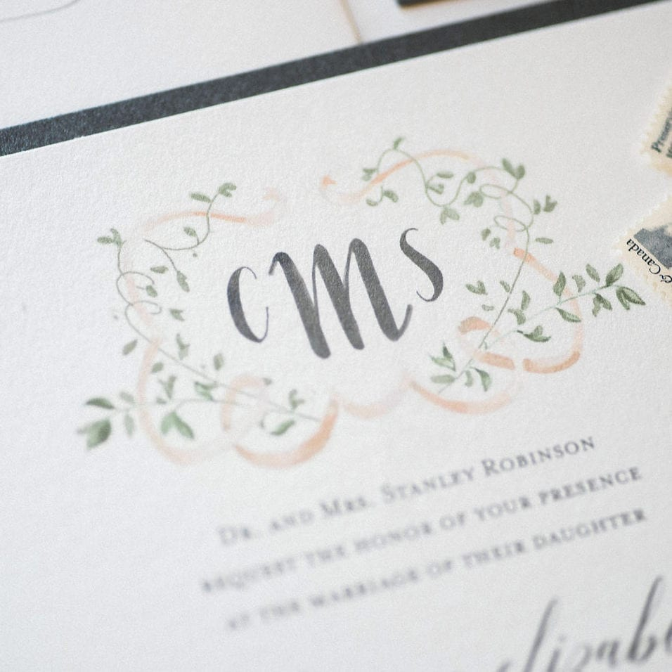 CMS Illustrated Monogram