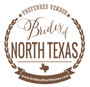 Brides of North Texas Preferred Vendor Badge