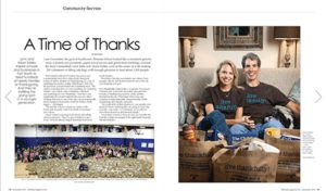 Live Thankfully Fort Worth in 360 West Magazine